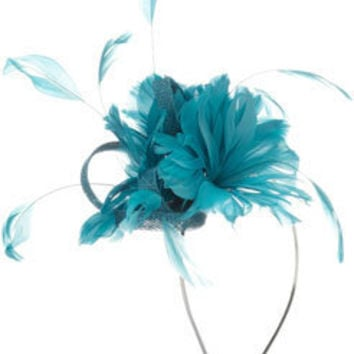 Cut Feather Flower With Loops On Band at Accessorize