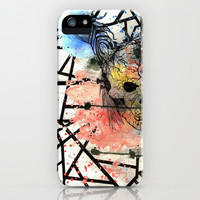 Splatter Skull iPhone & iPod Case by Halfmoon Industries