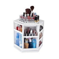Tabletop Spinning Cosmetic Organizer by Lori Greiner - QVC.com