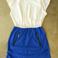 Tyrian Sailor Dress in Marin [2743] - &amp;#36;34.00 : Vintage Inspired Clothing &amp; Affordable Summer Dresses, deloom | Modern. Vintage. Crafted.