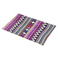 Aztec tribal abstract geometrical ,chevron pattern placemat from Zazzle.com