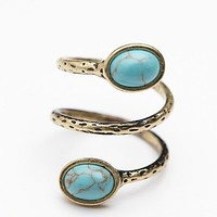 Free People Womens Stone Ring -