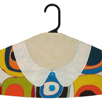 Garment Bag Hanger Cover - Modern Dots w/Collar