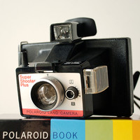 Vintage Polaroid Camera Super Shooter Plus Packfilm Camera