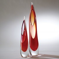 Stalagmite Fire Vase Set by Global Views - Opulentitems.com