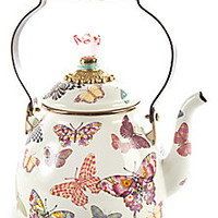 MacKenzie-Childs - Butterfly Teapot - Saks Fifth Avenue Mobile