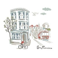 SAN FRANCISCO FRAMED PRINT