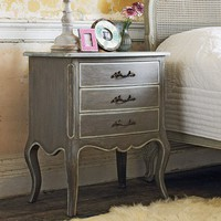 Laurel Three Drawer Side Table