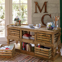 San Marcos Crate Sideboard - Sideboards & Consoles - Dining Room - Furniture - NapaStyle