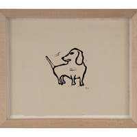 DACHSCHUND PRINT | mirrors/wall decor | accessories | Jayson Home & Garden