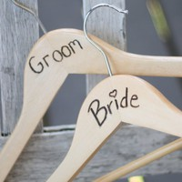 FEATURED IN B WEDDING MAGAZINE Personalized Carved by braggingbags
