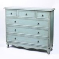 Kirkland's: Blue Distressed Chest