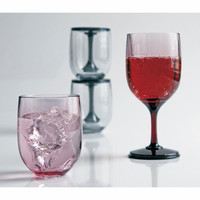 Sit-and-Stand Portable Wine Glass