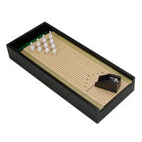 DESKTOP BOWLING | Game, Toy, Miniature Game, Classic, For The Office, For The Boss. | UncommonGoods