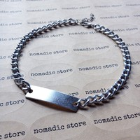 NEW! The Chunky ID Choker - Silver