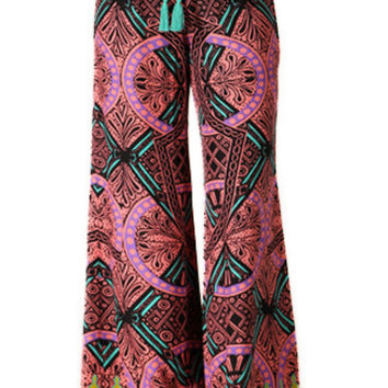 Tribal Print Palazzo Pants | Sweetrebelboutique.com | Sweet Rebel