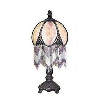 """Victorian-Style 14""""H Accent Lamp - QVC.com"""