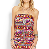 Gone Global Strapless Romper