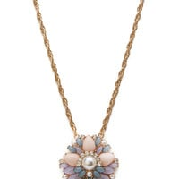 Bejeweled Pendant Necklace