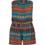 FULL TILT Ethnic Print Womens Tube Romper 195322957 | rompers &amp; overalls | Tillys.com