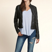 Brooks Street Vegan Leather Jacket