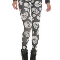 Understar Skulls Hearts Leggings