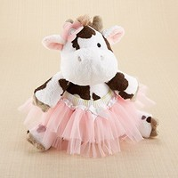 """Daisy Lou & Bloomer, Too!"" Plush Cow and Bloomer For Baby"