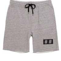 Been Trill Trill Sweat Shorts - Mens Shorts - Gray -