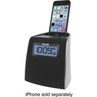 iHome - Lightning Clock Radio - Gunmetal