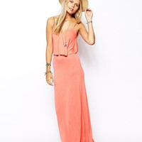 ASOS Frill Maxi Beach Dress