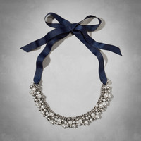 Shine Ribbon Necklace