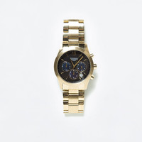 GOLD CHRONO WATCH