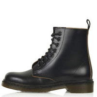ADMIRE Lace Up Boots - Black
