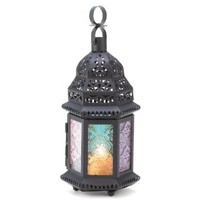 Magic Rainbow Moroccan Lantern