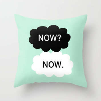 All We Have Is Now Throw Pillow by BeautifulHomes | Society6