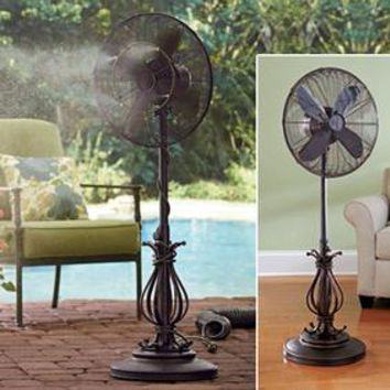 Outdoor Oscillating Fan @ Fresh Finds