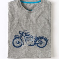 Graphic T-shirt (Grey Marl)