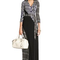 Diana Silk Jersey Maxi Wrap Dress