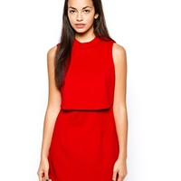 Lavish Alice Cropped Mini Dress