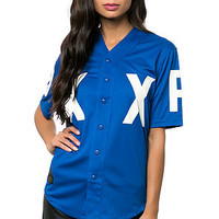 The DXXP Baseball Jersey in Blue