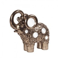 Bronze Elephant Sculpture 97002 by Howard Elliott - Opulentitems.com