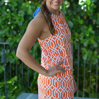 SOUTHERN BELLE Blue & Orange FL Gators Gameday dress Shop Simply Me Boutique – Simply Me Boutique