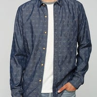 Koto Printed Chambray Button-Down Shirt - Urban Outfitters