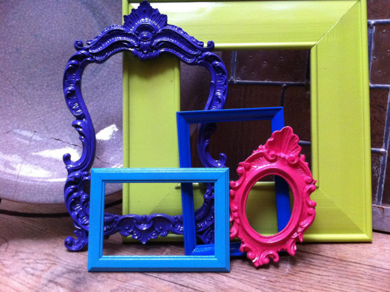 Gallery Of Frames Funky Vintage Frames From Fefifofun On Etsy