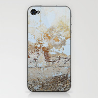 Grunge Wall iPhone & iPod Skin by CosmosDesignz | Society6