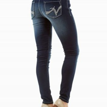 HARLOW ULTRA JEGGING MID RISE JEANS