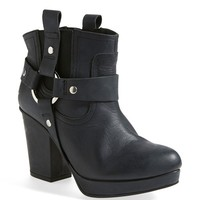 Topshop 'Alexus' Harness Boot (Nordstrom Exclusive) (Women)