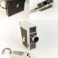 Vintage 60s Super8 Film Camera Meopta Supra Double Super8