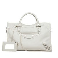 Balenciaga Classic Metallic Edge City - Top handle bag