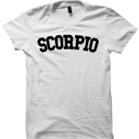 SCORPIO T-SHIRT TEAM SCORPIO SHIRT ZODIAC SIGN SHIRTS COOL SHIRTS HIPSTER CLOTHES GIFTS FOR TEENS BIRTHDAY GIFTS CHRISTMAS GIFTS